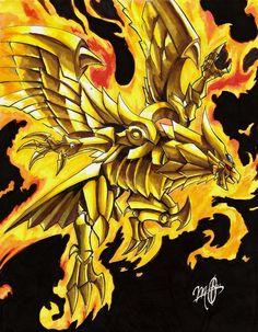 Winged Dragon of Ra by ShikoSyaoran.deviantart.com on @DeviantArt