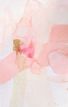 With Love, acuarela no a la venta de Christina BAker, colores