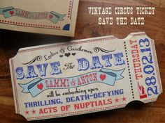 Looking for a fun and new wedding ideas? I love the Vintage Circus idea! You can use a variety of colors and the ideas for decor and favors are endless!!!