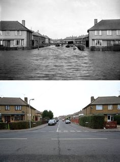 Submerged by the sea: Looking back at the killer floods which deluged Britain in…