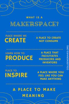 Makerspace Resources and Programming ideas | Create, Collaborate, Innovate