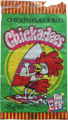"""Chicka chicka dee, they're chicken flavoured and crunchy, Chickadee...."""
