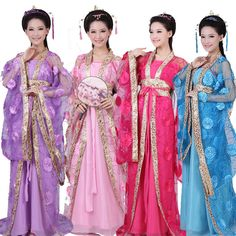 2017 #ancient #women ladies chinese costum dress #clothing #women dance dress suit,  View more on the LINK: http://www.zeppy.io/product/gb/2/201609816943/