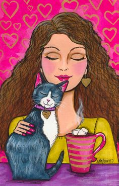 """""""Love and Hot Cocoa"""" par Lisa Nelson"""