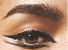 unique winged eyeliner