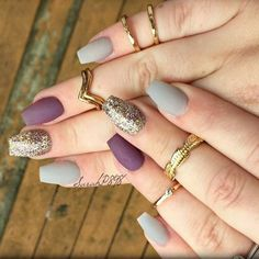 67 Best Matte Nails! View them all right here ->   http://www.nailmypolish.com/matte-nails/   @nailmypolish