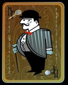 Cards on the Table Poirot by ~rac3775 on deviantART