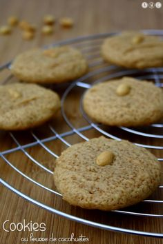 Des Cookies typiquement américains au beurre de cacahuètes maison ça vous dit ?