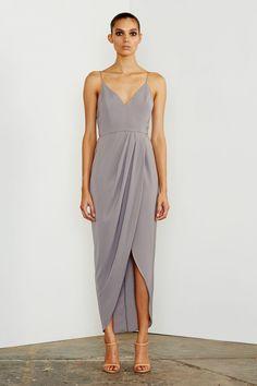 CORE COCKTAIL DRESS - GREY | Shona Joy