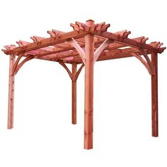 10 x10 Cedar Breeze Pergola Kit | I he the tips on these.