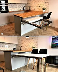 magnificient small kitchen design ideas on a budget 2 ~ Modern House Design Home Decor Kitchen, Kitchen Furniture, Home Kitchens, Kitchen Ideas, Furniture Design, Modern Kitchen Design, Interior Design Kitchen, Interior Modern, Home Interior