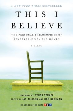 """This I Believe: The Personal Philosophies of Remarkable Men and Women """"The perishableness of life … imparts value, dignity, interest to life."""" Thomas Mann on time, timelessness, and the soul of existence – his beautiful contribution to NPR's 'This I Believe' series:"""