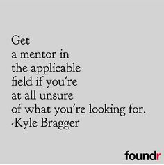 Successful entrepreneurs have mentors. No other way to say it!  Double tap if you agree! by foundrmagazine