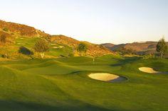 9th hole at Tierra Rejada Golf Club 575 yard par 5