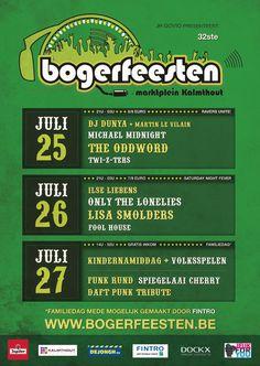 Poster for festival Bogerfeesten