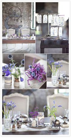 purple, vintage