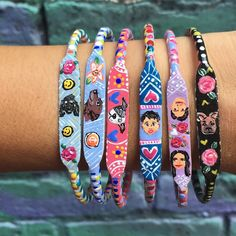 Custom portrait bracelets available  shlep your beloved along with you wherever your party may lead