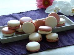 Vanille-Himbeer-Macarons