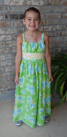 Sew Pretty Dresses: Josie from Girl's World