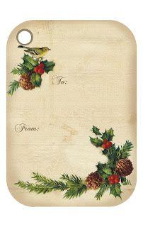 Wild@heart: Friday freebie - Christmas tags3