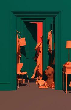 Venus Mansion - Surreal Visual Scenes by Lee Sol | Trendland