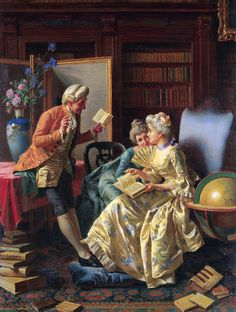 The Athenaeum - In the Library (Pio Ricci - )