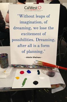 What are you doing to encourage #imagination in your #classroom?