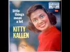♪ In The Chapel In The Moonlight ♪ ~ sung by Kitty Kallen.  Scary picture but love the song.