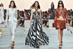 Suzy Menkes reports from the Emilio Pucci,  Jil Sander, Roberto Cavalli, Giorgio Armani and Bottega Veneta shows at Milan Fashion Week. #fashion