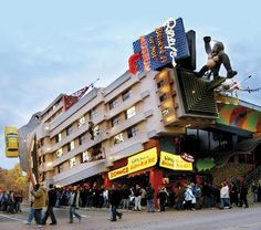Ripley's Believe It or Not! Museum on Clifton Hill in Niagara Falls. My dad taught me to love these places--it could be genetic.