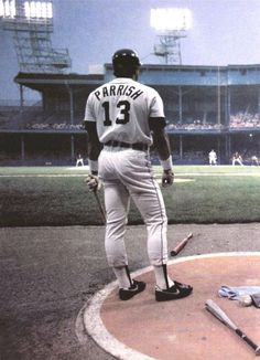 Lance Parrish - probably my fave Tiger from the 1984 Championship team!