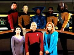 One of my favorite TV shows is Star Trek The Next Generation.