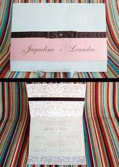 Convite de casamento - Personalizado