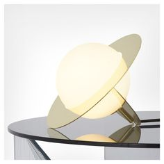 Tom Dixon - Plane Round table lamp