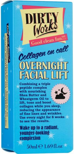 Dirty Works Overnight Facial Lift (50ml)