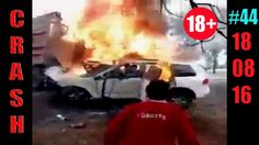 18+ Жесткие ДТП и Аварии /  Hard Crash /#44/ Август 2016 || CRASH