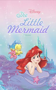 Disney Princess Cinderella, Mermaid Disney, Disney Princess Pictures, Disney Little Mermaids, Ariel The Little Mermaid, Wallpaper Iphone Disney, Cute Disney Wallpaper, Cute Cartoon Wallpapers, Mermaid Happy Birthday