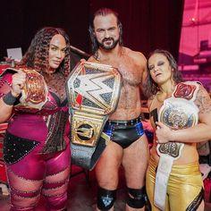 Drew Galloway, Wwe Royal Rumble, Nia Jax, Wwe Female Wrestlers, Shawn Michaels, Drew Mcintyre, Wwe Champions, Wrestling Wwe, Wwe Womens