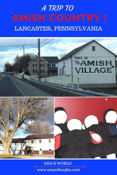 The Country of Lancaster in Pennsylvania is a home of the largest Amish population living in the US! Read about my entire experience visiting there! Usa Travel Guide, Travel Usa, Travel Tips, Travel Advice, Lancaster Pennsylvania, Lancaster County, Lancaster Amish, Road Trip Usa, United States Travel