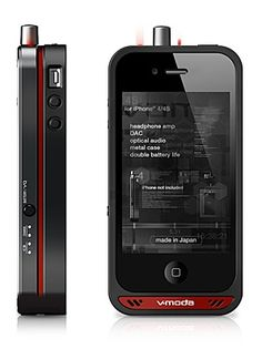 V-Moda Vamp: An iPhone case for audiophiles $650