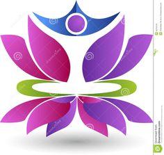 flor de loto dibujo simple - Buscar con Google