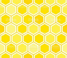 Honeycomb Seamless Pattern Background stock vector art 465020230 ...