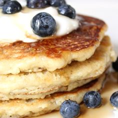 Healthy Brunch: Low-Carb, Gluten-Free Almond Pancakes  3 cups almond meal 1 tablespoon ground flaxseed 1/2 teaspoon sea salt 1/2 teaspoon baking soda 3 large eggs 3/4 cup unsweetened almond milk, light coconut milk, or milk 2 tablespoons extra-light olive oil, walnut oil, coconut oil, or butter, melted