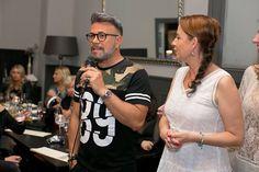 Osmany Laffita a Jolana Voldánová na eventu v restauraci Tiburón. Spolupořadatel: SV Boutique Foto: Klára Bartheldi