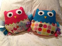 (Free pattern and tutorial) How to make a taggy owl (also ideas for a giraffe and dinosaur) So cute!