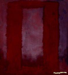 Rothko: Red on Maroon, 1959 (custom print) Mark Rothko Artwork, Mark Rothko Paintings, Framed Canvas Prints, Canvas Frame, Home Art, Artist, Red, Shop, Art Inspo