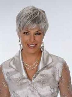 Silver Hair Styles | Grey Hair Styles - Free Download Traditional Short Hairstyles For Grey ...