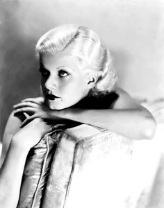 Jean Harlow by George Hurrell, 1932.