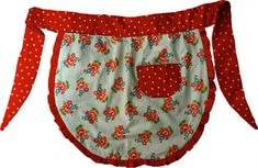One day I am going to sew some aprons for my girls. This link has 10 free apron patterns.