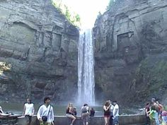 Taughannock Falls State Park New York, Hiking, Trails, Pictures, Movies and Maps